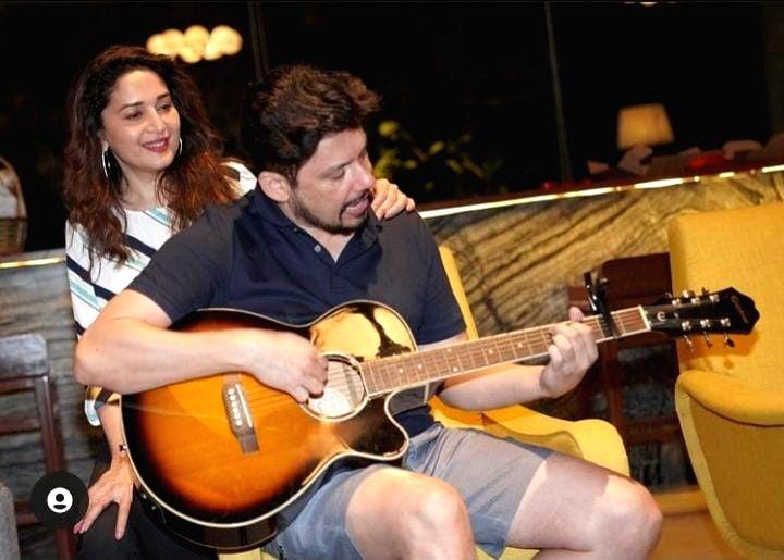 Madhuri Dixit likes 'jamming' to unwind. - Madhuri Dixit