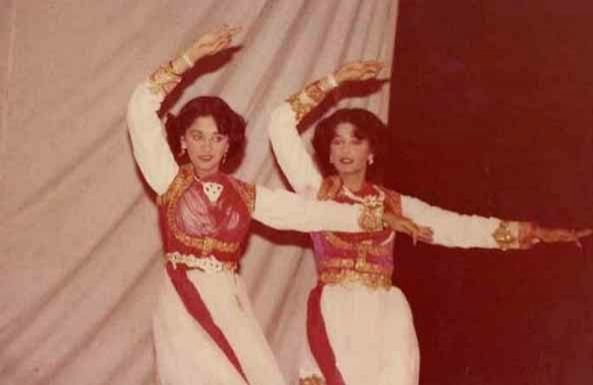 Madhuri Dixit shares throwback pic from school dance competition. - Madhuri Dixit