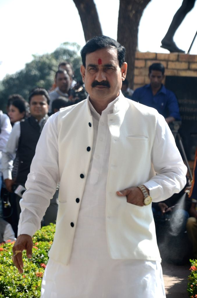Madhya Pradesh Irrigation Minister Narottam Mishra. The Election Commission has disqualified Mishra and barred him from contesting elections for three years for allegedly being involved in paid news ... - Narottam Mishra