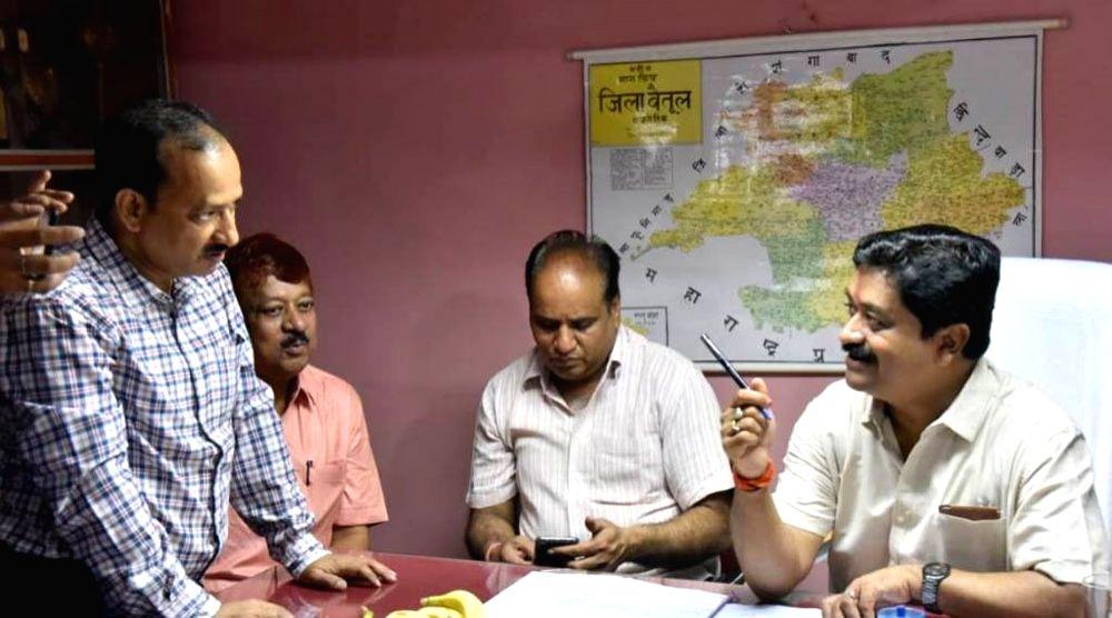 Madhya Pradesh Public Health Engineering Minister Sukhdev Panse. - Sukhdev Panse