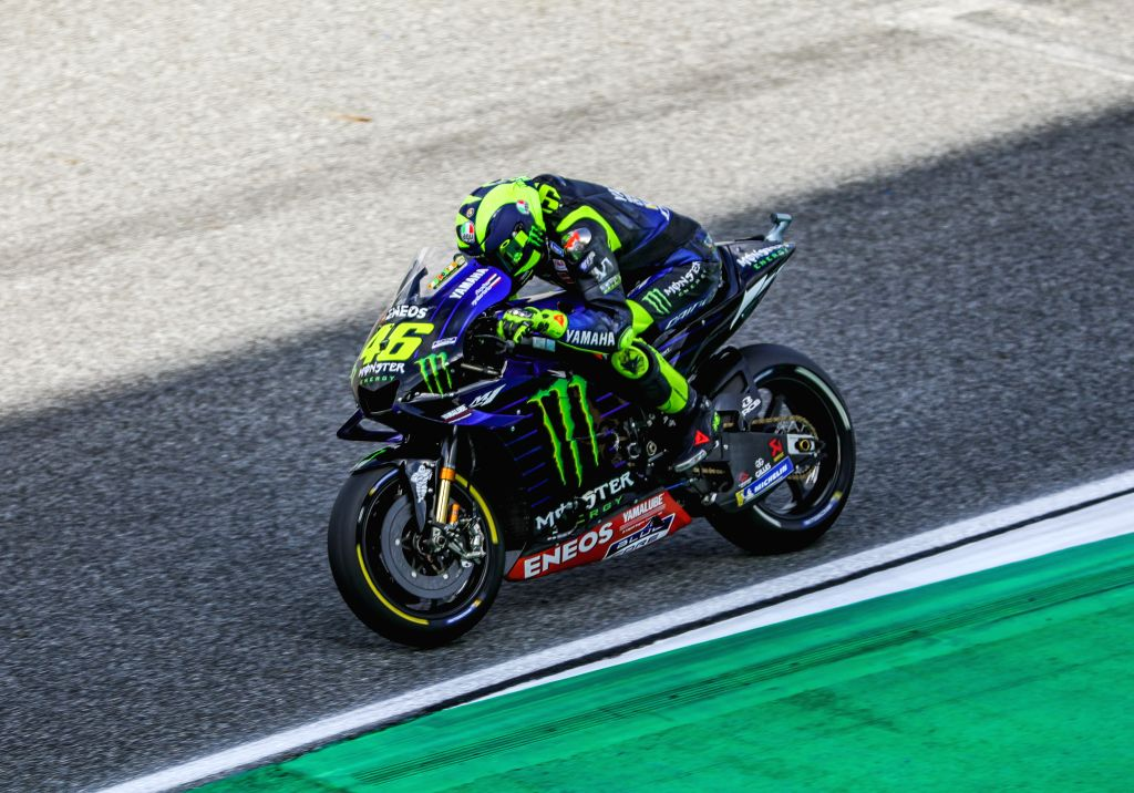 Madrid, June 11 (IANS) MotoGP on Thursday released an updated calendar for its 2020 season. The season is yet to begin due to the cancellation or postponement of many races due to the coronavirus pandemic.(Xinhua/Zhang Keren/IANS)