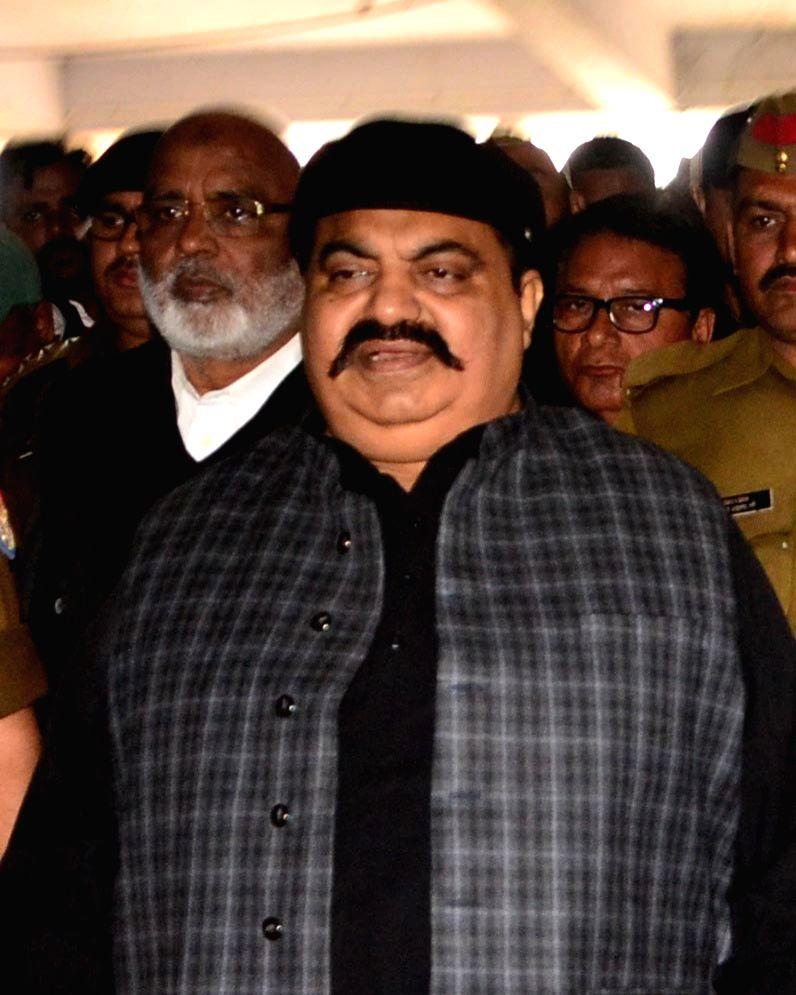 Mafia-turned-politician Atiq Ahmad. (File Photo: IANS)