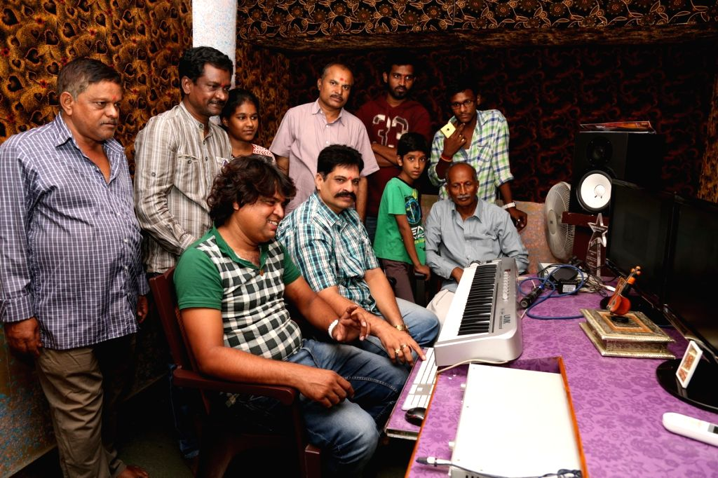 Magallu Vatti Maayagalle movie song recording.