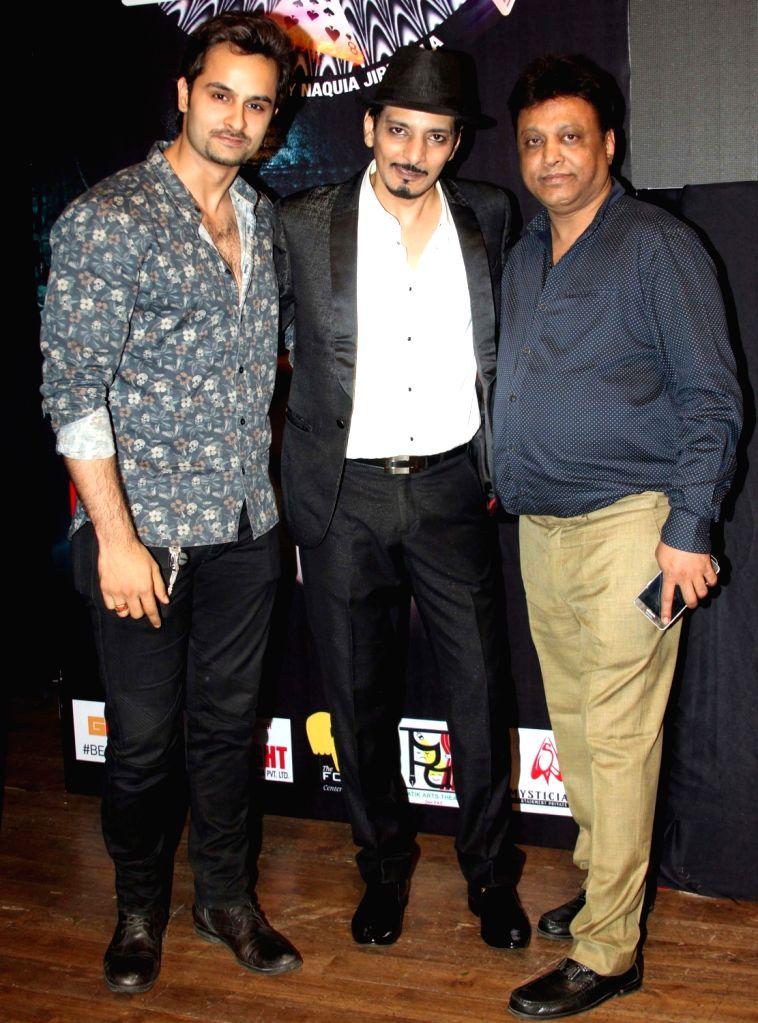 "Magician Ugesh Sarcar during promotion of ""Love Ke Funday"" in Mumbai, on July 2, 2016."