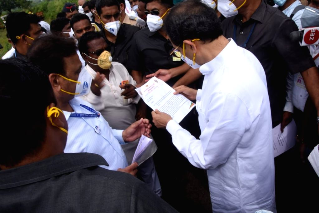 Maha leaders take stock of floods which claimed 48 lives.