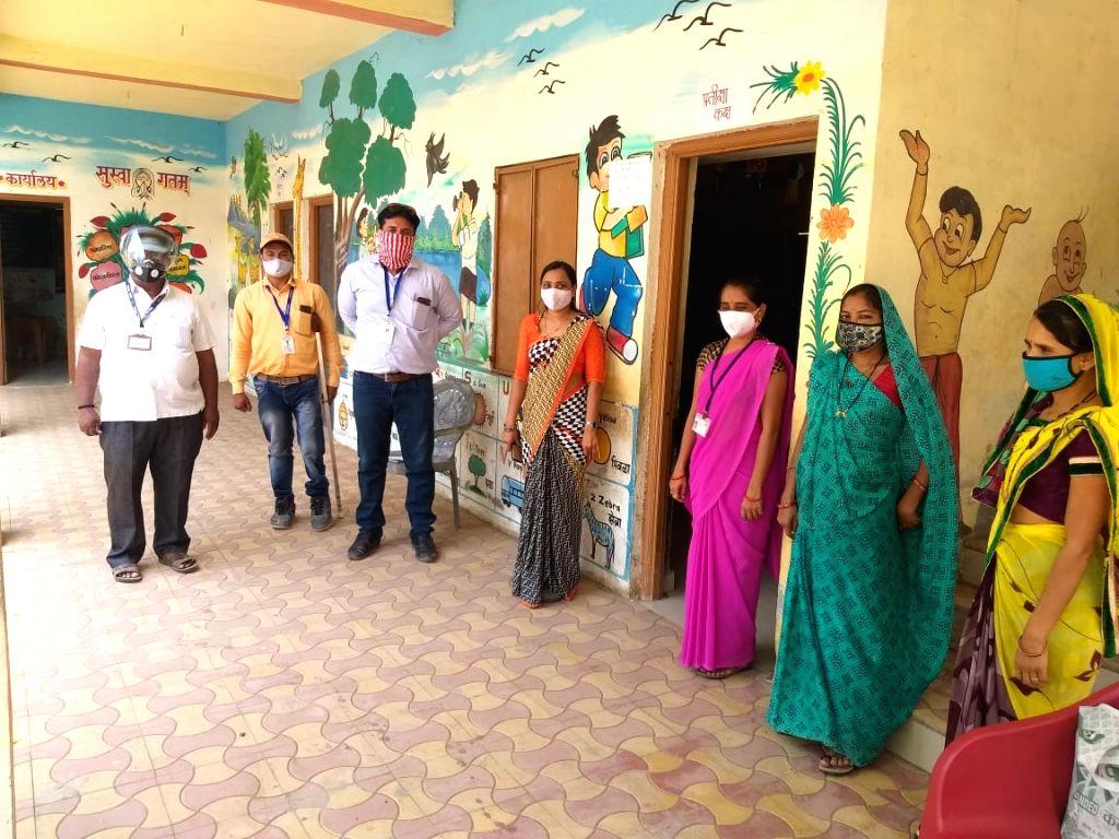 Maha School Principal fancy avatars create vaccination buzz