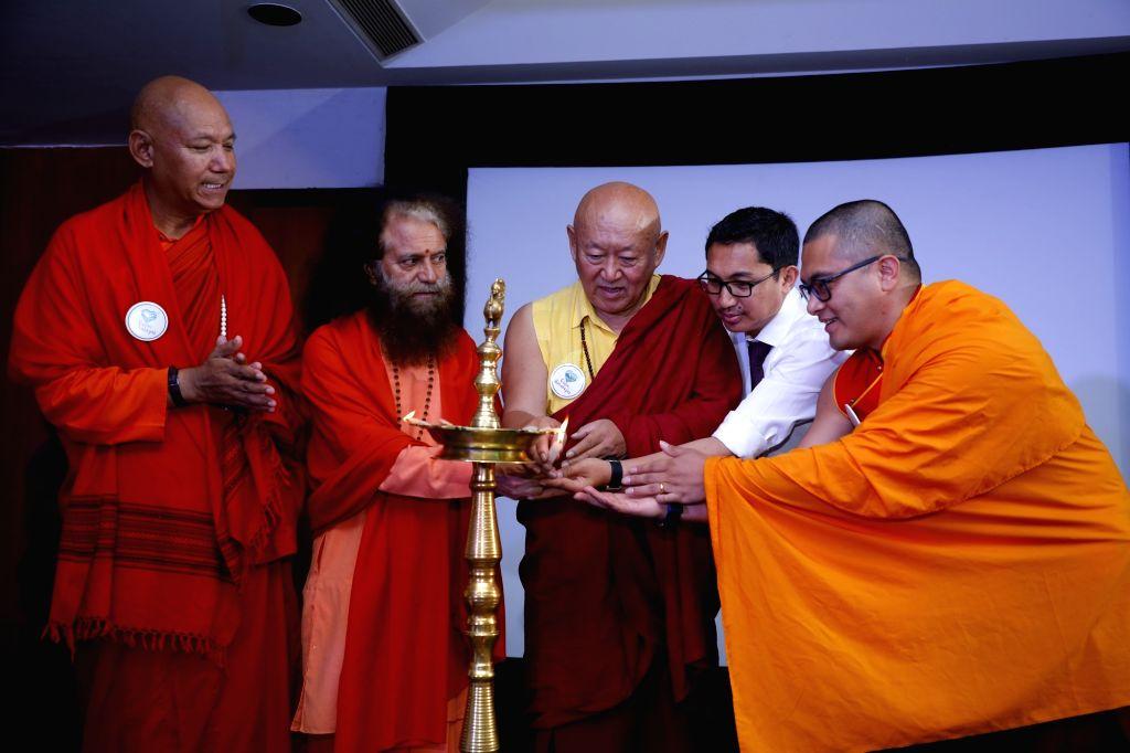 Mahabodhi International Meditation Centre Founder President Bhikkhu Sanghasena, Parmarth Niketan Ashram President and spiritual head Pujya Chindanand Swami, Ladakh MP Jamyang Tsering ...
