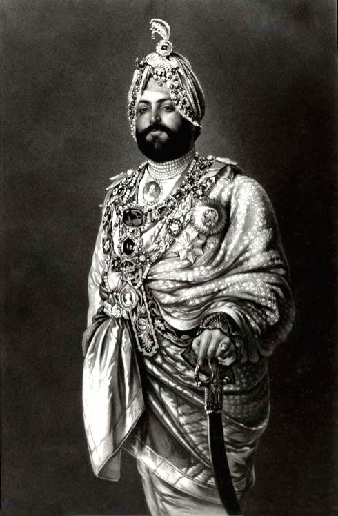 Maharaja Duleep Singh in the latter part of his life - Duleep Singh