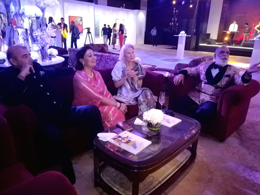 Maharana of Mewar Arvind Singh Mewar during the celebration of the second edition of 115 Years Charity Gala in New Delhi on Aug 9, 2019.