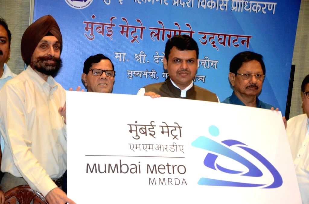 Maharashtra Chief Minister Devendra Fadnavis during a programme organised to unveil Mumbai Metro logo in Mumbai, on Oct 19, 2016. - Devendra Fadnavis