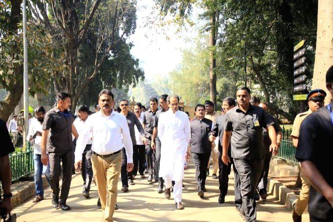 Maharashtra Chief Minister Uddhav Thackeray inaugurated the country's first and biggest 'walk-through' aviary at the Veermata Jijabai Bhosale Udyan and Zoo, as part of the Republic Day festivities, ... - Uddhav Thackeray