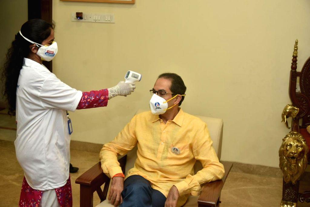 "Maharashtra Chief Minister Uddhav Thackeray, his son Tourism Minister Aditya Thackeray, and other family members underwent a basic Corona test as part of the ""My Family, My ... - Uddhav Thackeray"