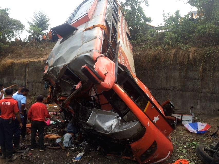 Maharashtra Expressway accident