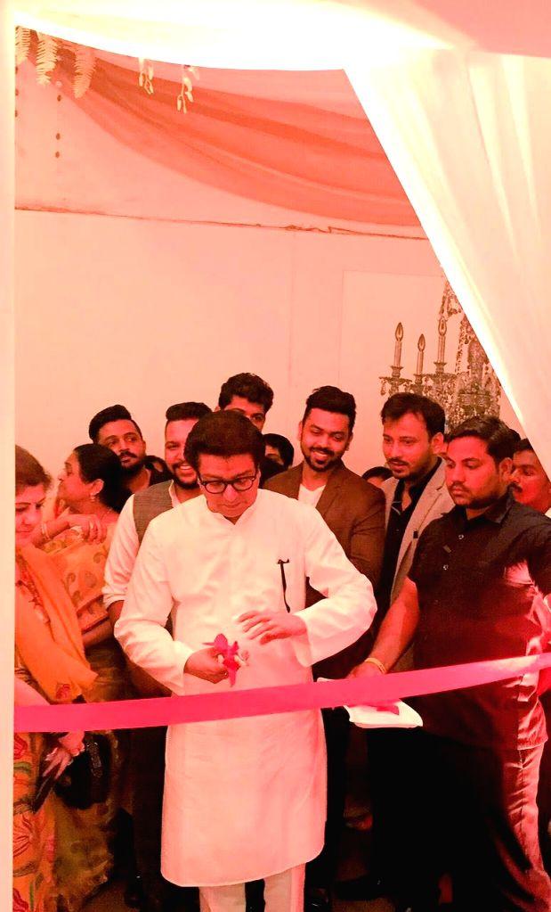 Maharashtra Navnirman Sena (MNS) Chief Raj Thackrey launches `Meuble India`, the new furniture studio, in Mumbai on June 25, 2016.