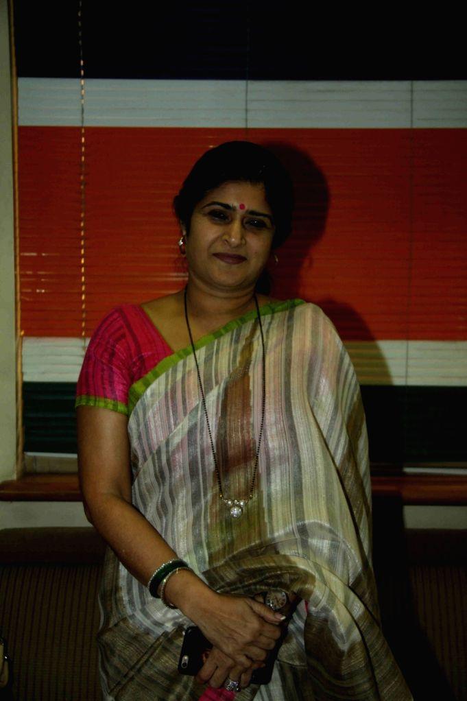 Maharashtra Navnirman Sena (MNS) leader Shalini Thackeray during a press conference in Mumbai, on April 21, 2016. Shilpa Shinde filed a police complaint against Cine and TV Artistes ... - Benaifer Kohli
