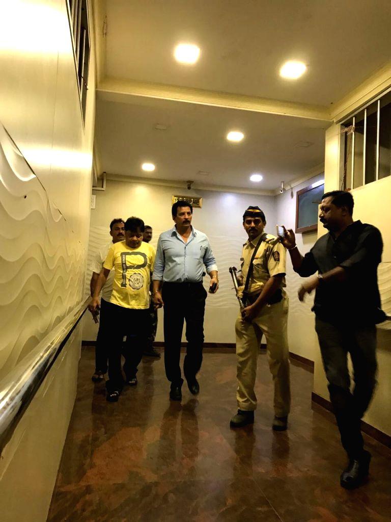 Maharashtra  Police arrested Iqbal Ibrahim Kaskar, brother of absconding mafia don Dawood Ibrahim Kaskar, in Mumbai on Sep 18, 2017