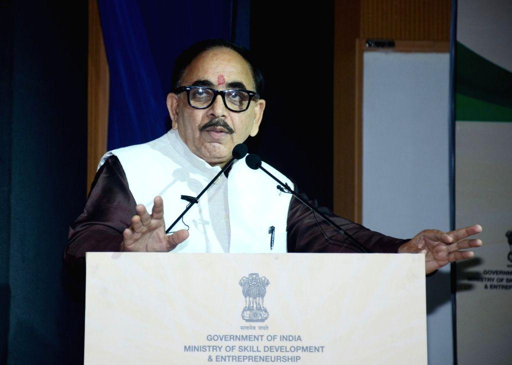 Mahendra Nath Pandey. (Photo: IANS/PIB) - Mahendra Nath Pandey