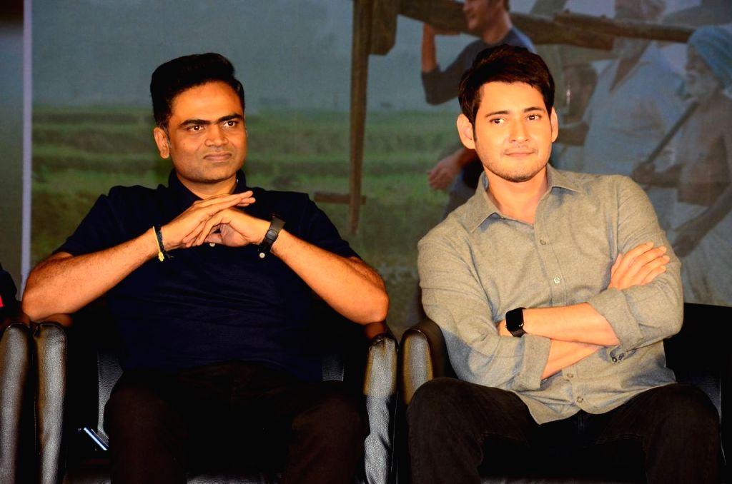Mahesh Babu's Maharshi movie success meet.