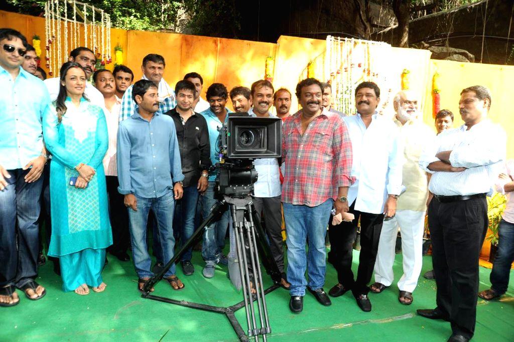 Mahesh Babu`s new film launching.