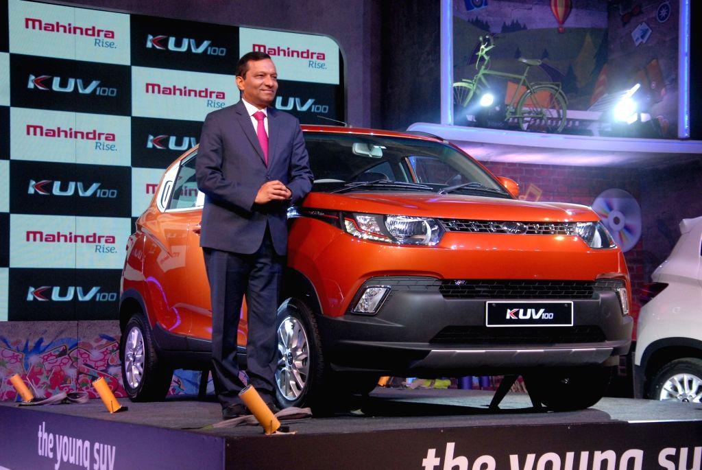 Mahindra & Mahindra launches KUV 100 in Pune, on Jan 15, 2016.