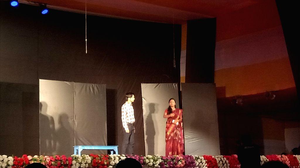 Maithili drama 'Koili Binu Bagia Udas' was staged on the third evening of Vidyapati festival celebrated to mark 'Karthik Dhaval Trayodashi' in Patna.