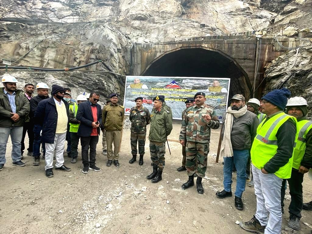 Major breakthrough in Arunachal tunnel construction