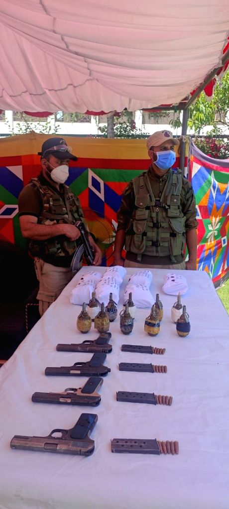 Major narco-terror module busted by J&K Police, 10 arrested.