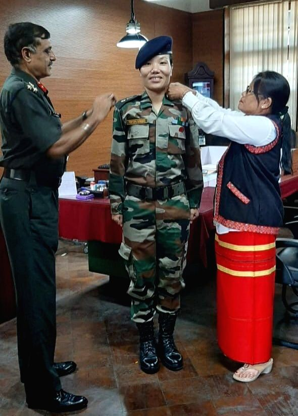 Major Ponung Doming has become the first Army officer from Arunachal Pradesh to achieve the distinction of being elevated to the rank of a Lieutenant Colonel. Doming, a resident of Pasighat in East Siang district of Arunachal Pradesh, had been commis