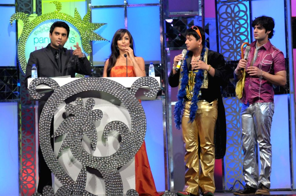 Malaika Arora Khan and Madhavan host the Pantaloons Femina Miss India '09 pageant on April 5th, 2009 in Mumbai.