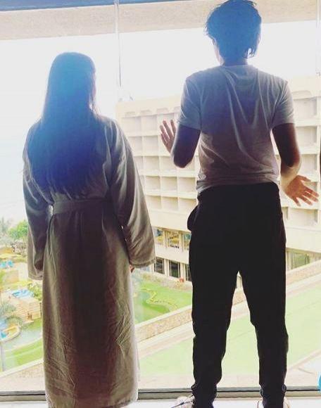 Malaika Arora shares pic with son Arhaan: focus on ourselves, health. - Malaika Arora