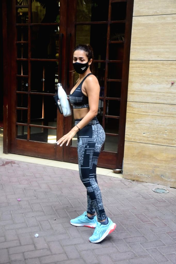 Malaika Arora Spotted at Yoga Class In Bandra On Saturday 27 March, 2021. - Malaika Arora Spotted