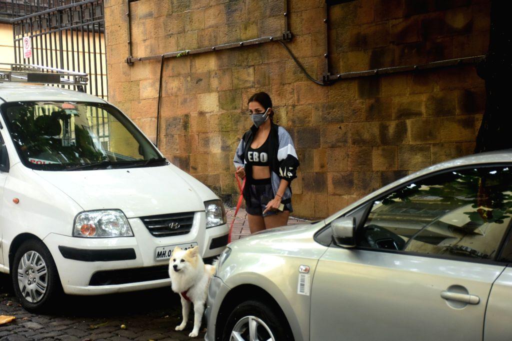 Malaika Arora Spotted In Bandra on Thursday June 17,2021.