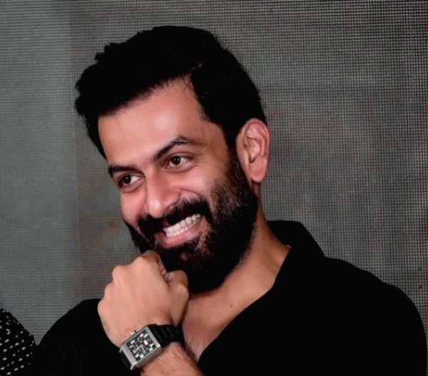 Malayalam star Prithviraj Sukumaran.(photo:Instagram)