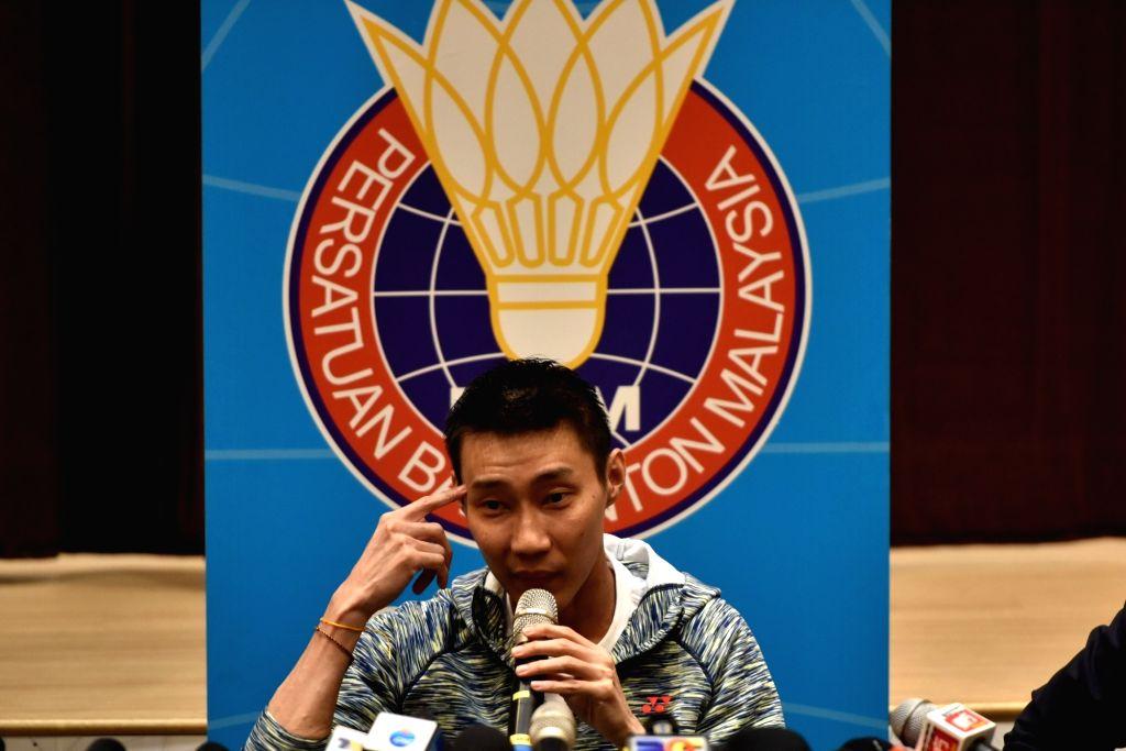Malaysian badminton player Lee Chong Wei. (Xinhua/Chong Voon Chung/IANS)