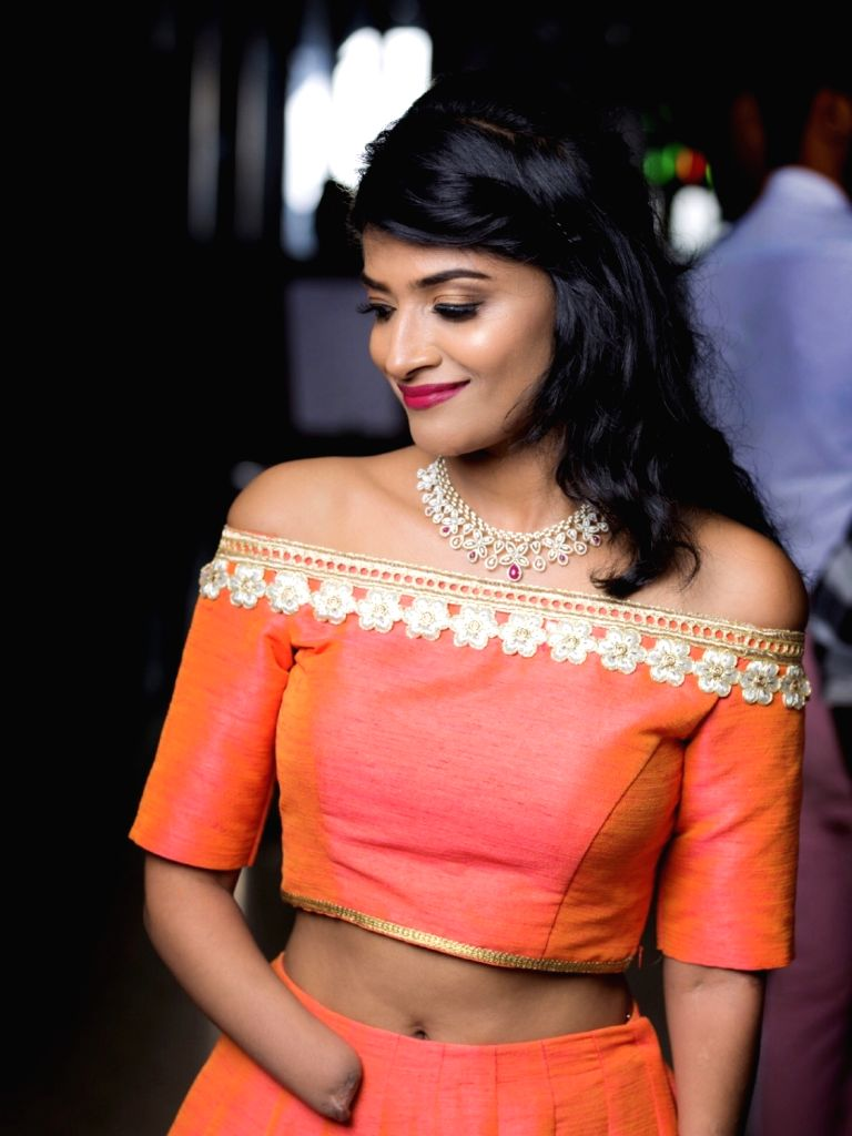 Malvika Iyer as a model for accessible fashion.