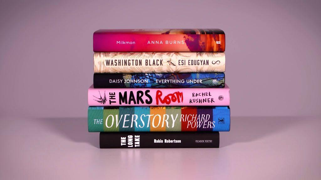 Man Booker 2018 shortlisted novels.