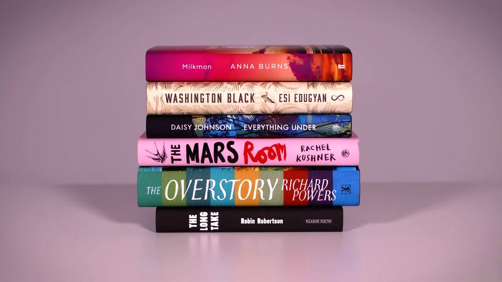 :Man Booker 2018 shortlisted novels..