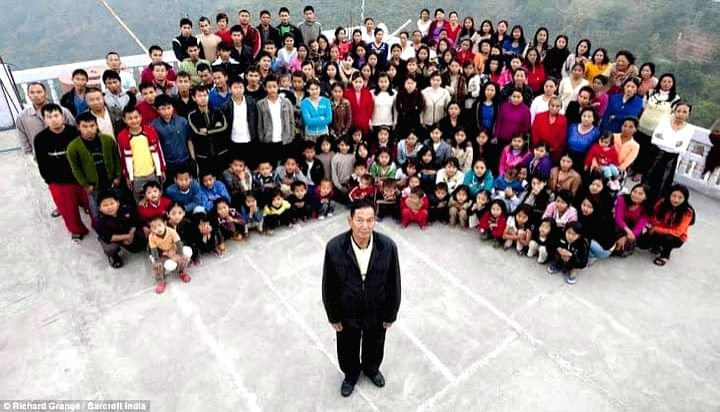 Man with worlds one of largest families dies at 76.