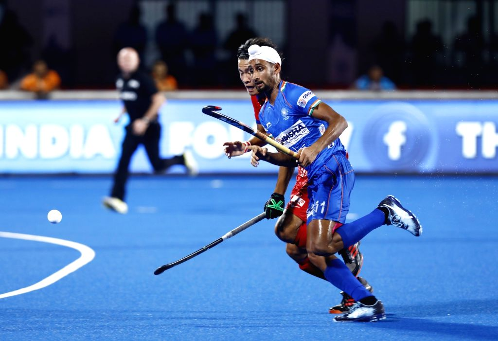 Mandeep Singh has been named the Vice Captain of the Indian Men's Hockey team. - Mandeep Singh