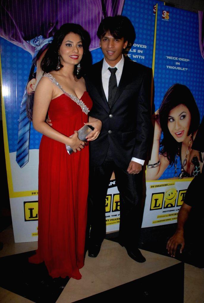 Manisha Kelkar and Abhijeet Sawant at the film 'Lottery' premiere.