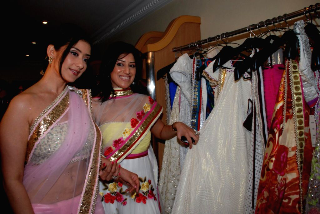 Manisha Koirala at the launch of designer Maheka Mirpuri's Spring/Summer collection at Mahalaxmi,Mumbai.