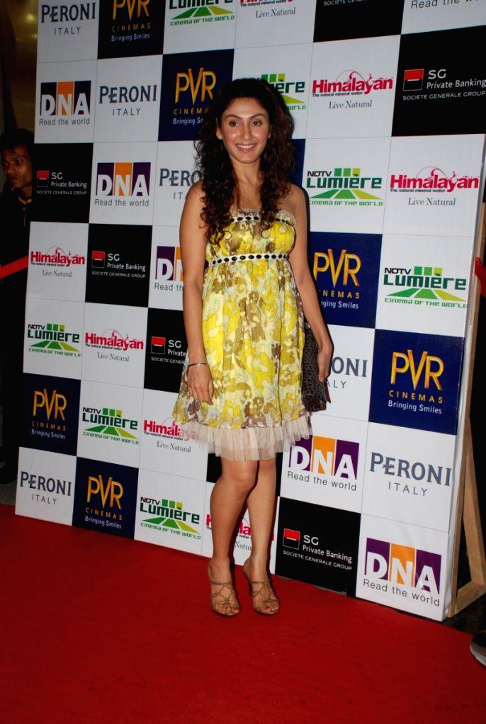Manjari Phadnis at NDTV lumiere screening.