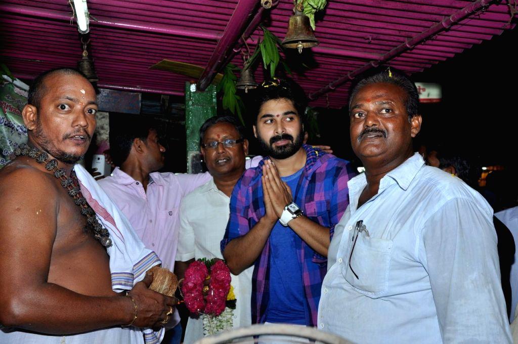 Mantra 2 film hero Chetan Cheenu visited theatres to promote the film at East Godavari district .