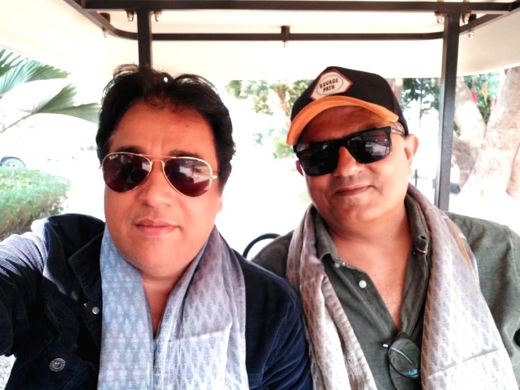 Manu Rishi Chadha and Gajraj Rao. - Gajraj Rao