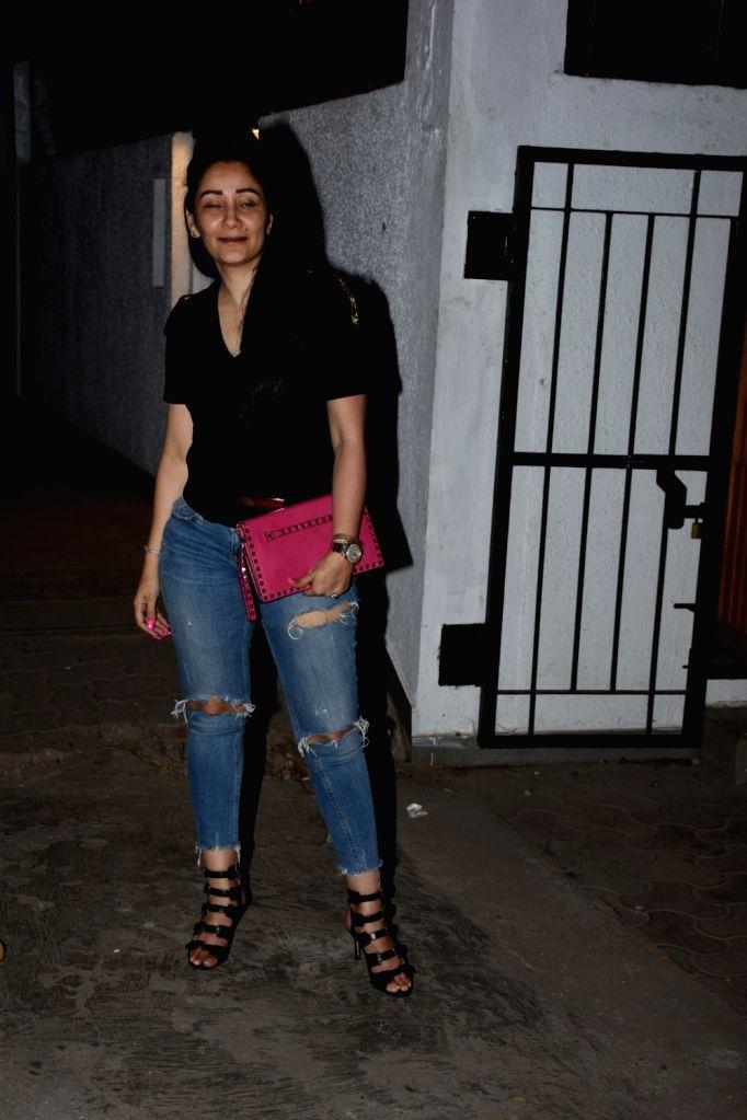 Manyata Dutt seen at Bandra, Mumbai on April 30, 2019. - Manyata Dutt
