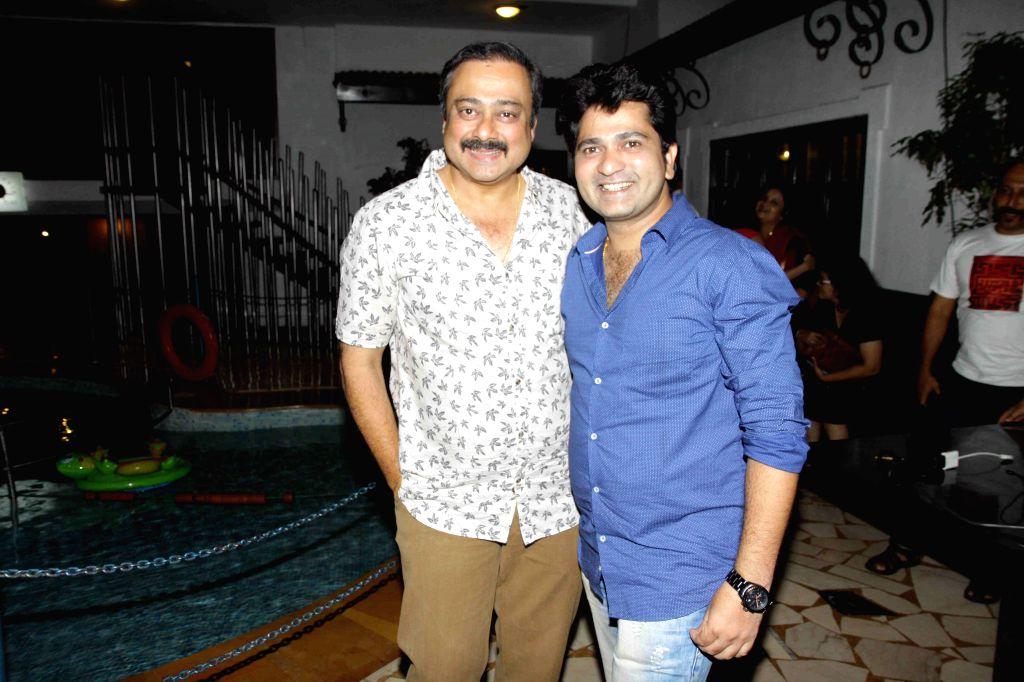 Marathi actor Sachin Khedekar during the trailer and music launch of film Shutter in Mumbai, on June 24, 2015. - Sachin Khedekar