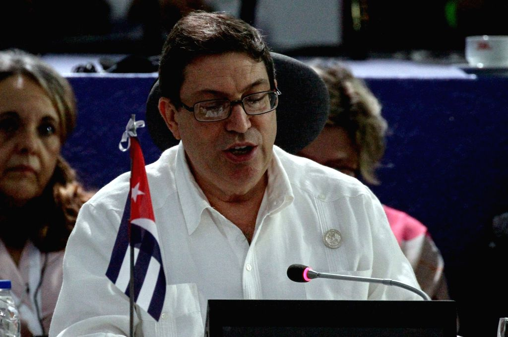 MARGARITA, Sept. 15, 2016 - Cuban Foreign Minister Bruno Rodriguez takes part in the foreign ministers plenary session of the 17th Non-Aligned Movement (NAM) summit, in Margarita Island, Venezuela, ... - Bruno Rodriguez