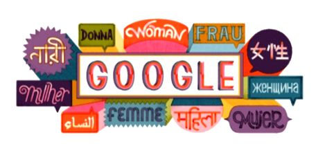 Marking the occasion of International Women's Day, Google showcased an interactive, slideshow doodle featuring inspirational quotes from 13 women achievers including boxer Mary Kom, across 11 ... - Mary Kom