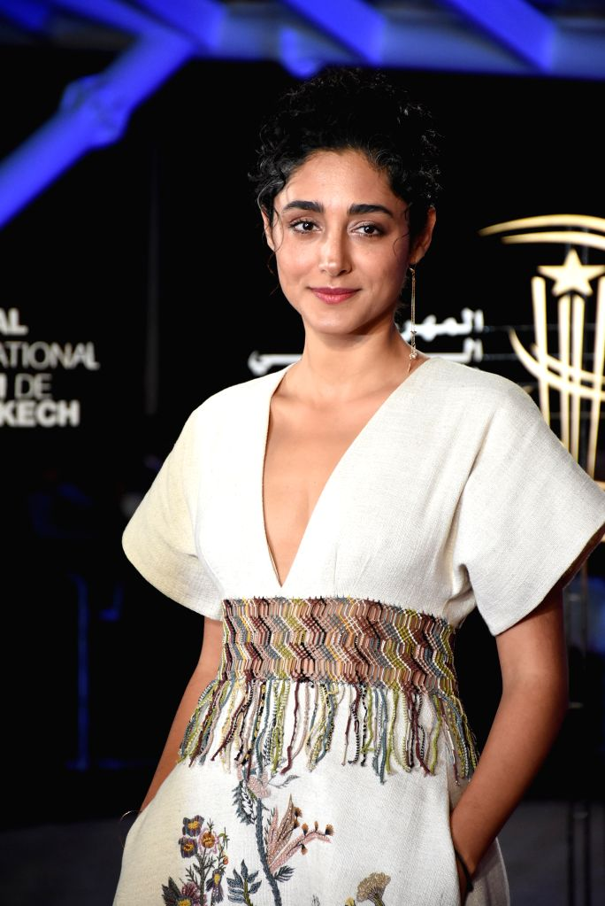 MARRAKECH, Dec. 2, 2019 - Actress Golshifteh Farahani attends the tribute to French director Bertrand Tavernier during the 18th Marrakech International Film Festival in Marrakech, Morocco, Dec. 1, ... - Golshifteh Farahani