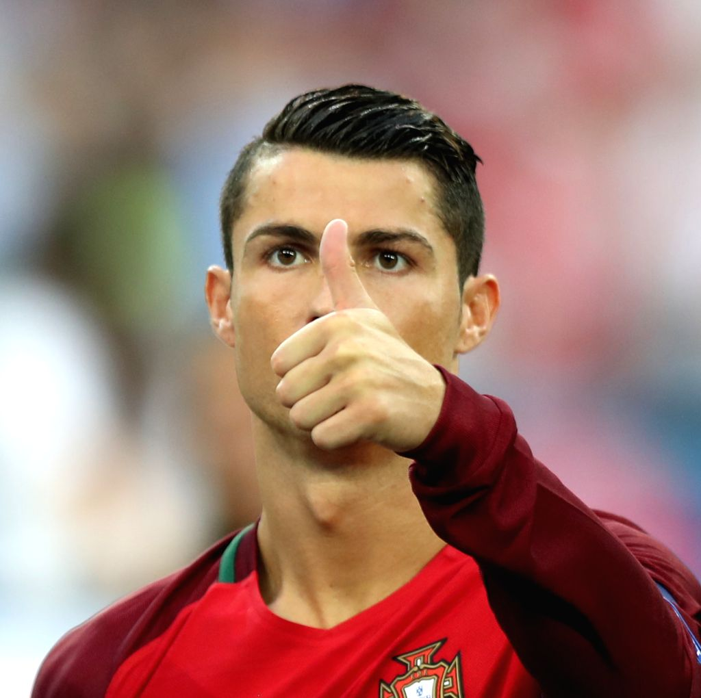 MARSEILLE, July 1, 2016 - Cristiano Ronaldo of Portugal reacts before the Euro 2016 quarterfinal match between Portugal and Poland in Marseille, France, June 30, 2016.